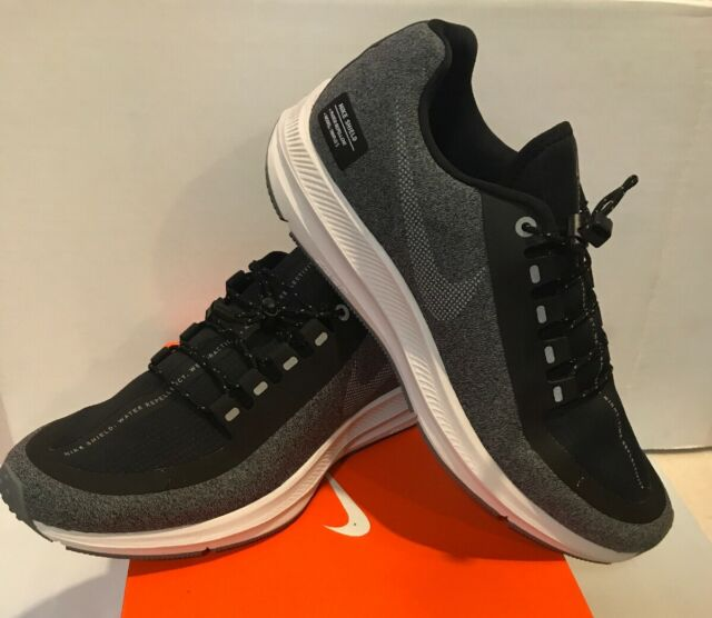 new style 0d1a8 30d3a Nike Men's Air Zoom WinFlo 5 Shield Gray Black Running Shoes Size 8