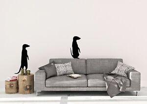 Meerkats-Standing-Inspired-Design-Zoo-Animals-Decor-Wall-Art-Decal-Vinyl-Sticker