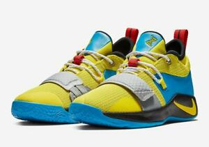 new concept 4557d 4b262 Details about NIKE PG 2.5 GS OPTI YELLOW BLUE HERO BASKETBALL SHOES (  BQ9457 740 ) SIZE 6Y