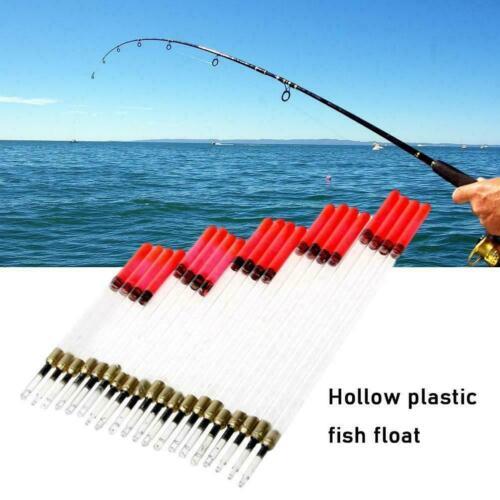 20Pcs Mixed Loaded Fishing Crystal Waggler Floats Carp Coarse Tackle A5G5
