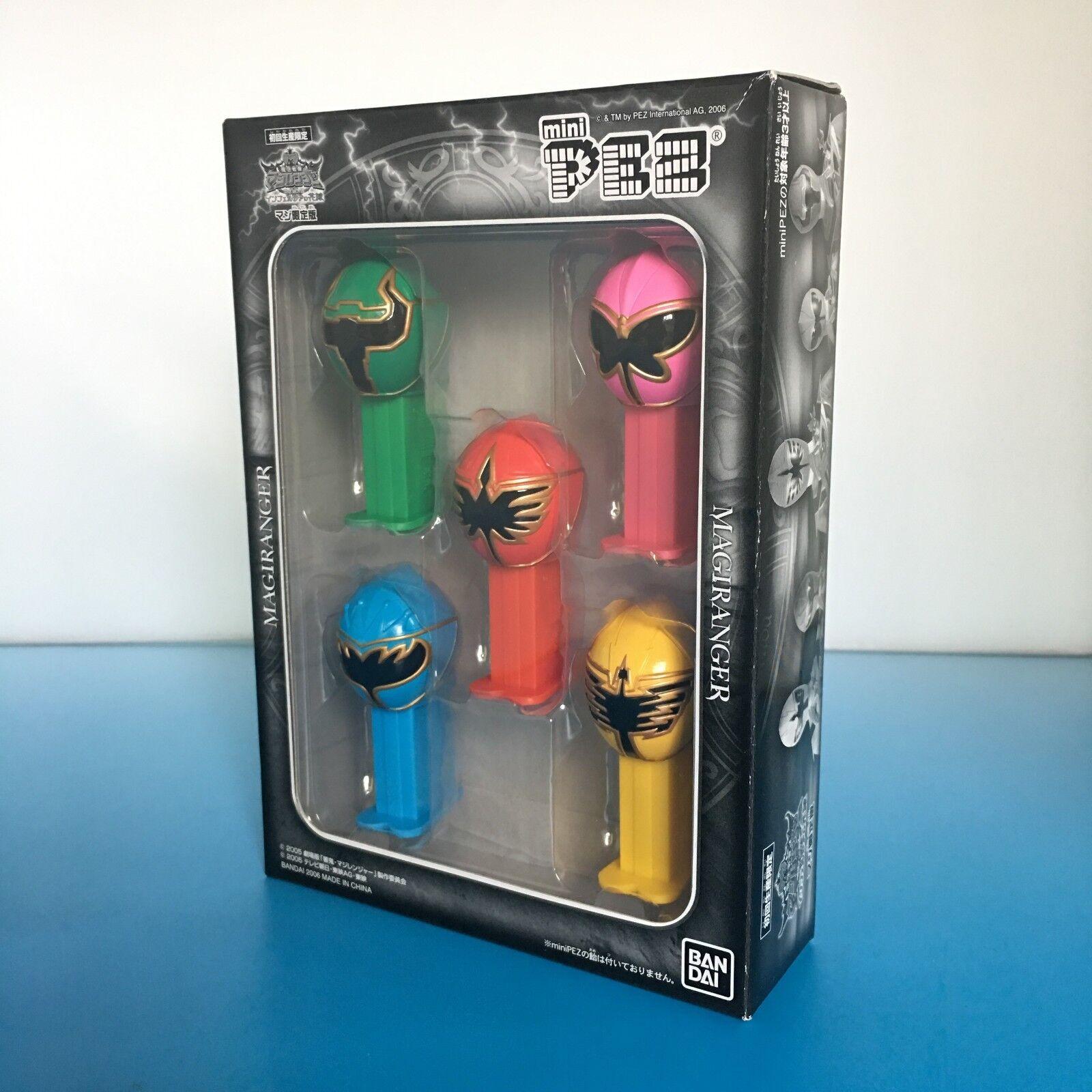 PEZ MINI Bandai MagiRanger Mini-Pez Box Set  Mini-Pez Dispensers Dispensers Dispensers A407 7a3eca