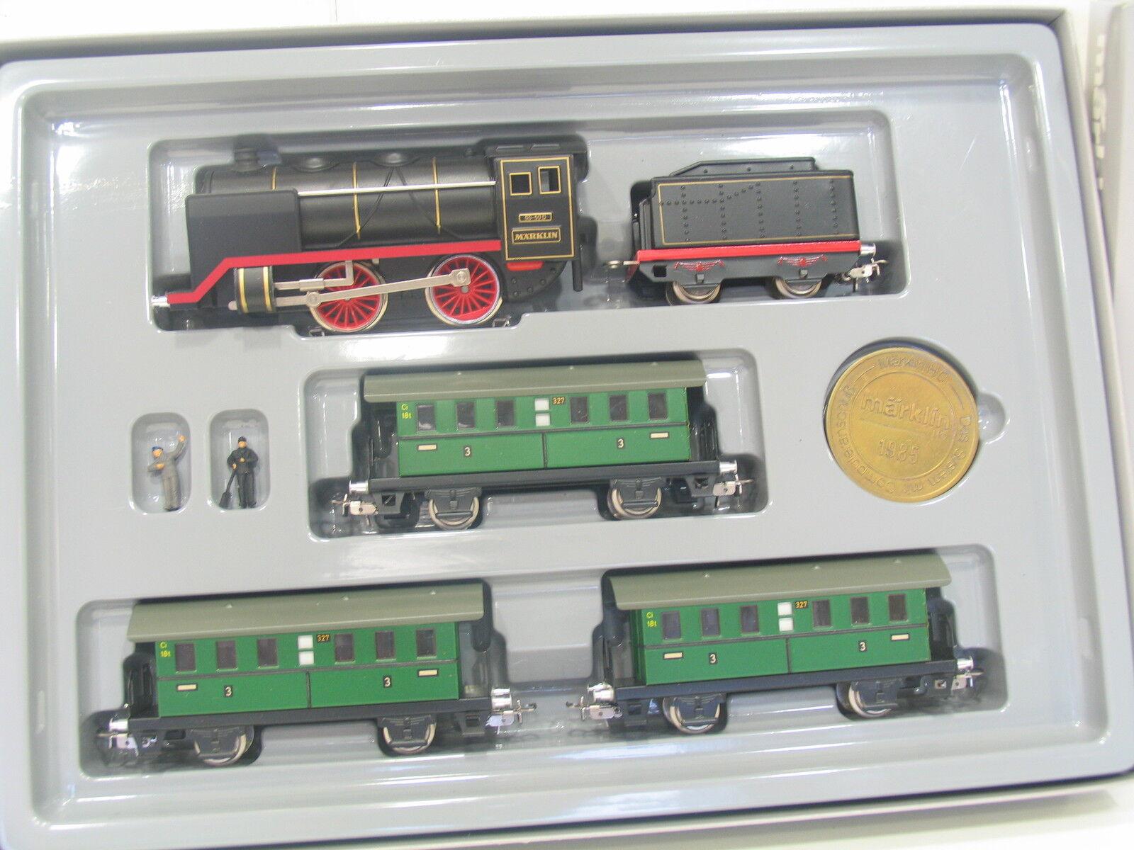 Märklin 0050 tren-set nostalgia de pasajeros rce con máquina de vapor (v2012)