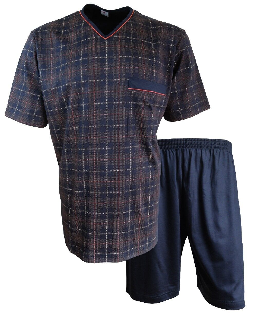 Isa Bodywear brevemente pijama short en azul  oscuro rojo marrón talla M L XXL  Nuevos productos de artículos novedosos.