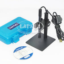 200X 2.0MP Waterproof USB Digital Microscope Magnifier Endoscope +2 Stand B007 A