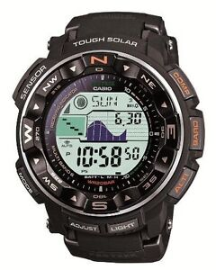 655ac53cf1c CASIO PRO TREK Tough Solar PRW-2500-1JF MULTIBAND 6 Men s Watch New ...