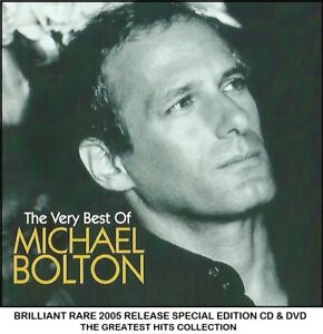 Details about Michael Bolton - Very Best Greatest Essential Hits Collection  CD & DVD 80's 90's