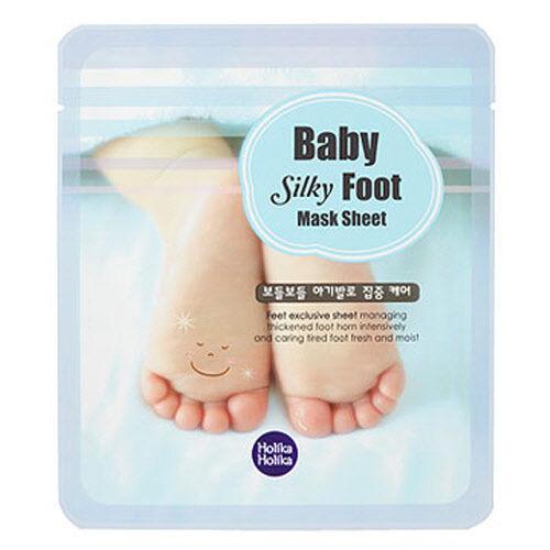 [Holika Holika] Baby Silky Foot Mask Sheet 1pair, 18ml