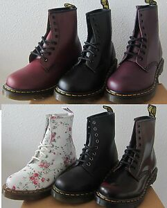 NEW! Women s DOC Dr. Martens 1460 Originals 8 Eye Lace Up Boots ... 423ff6e1d