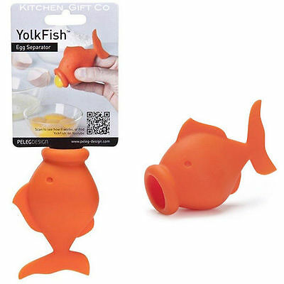 YolkFish Egg Separator Cool Kitchen Cooking / Baking Gadget Tool For Cake Making