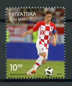 Croatie 2019 Neuf Sans Charnière Luka Modric 1 V Set Football Soccer Sport Timbres-afficher Le Titre D'origine