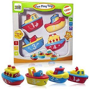 4-Magnet-Boat-Bath-Tub-Toy-Set-for-Boy-Girl-Toddler-Kid-Fun-Educational-Gift