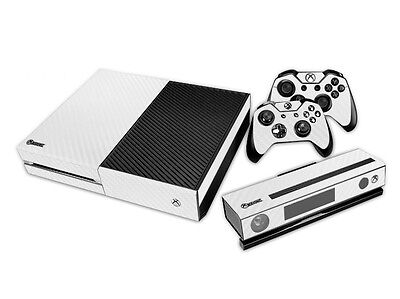 Video Games & Consoles Xbox One Skin Design Foils Aufkleber Schutzfolie Set White Alu Motiv Perfect In Workmanship