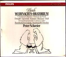 BACH Weihnachts-Oratorium PETER SCHREIER 3CD Donath Lipovsek Christmas Oratorio
