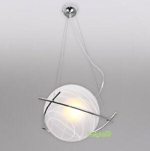 New modern glass ball ceiling light suspension light pendant lamp image is loading new modern glass ball ceiling light suspension light aloadofball Gallery