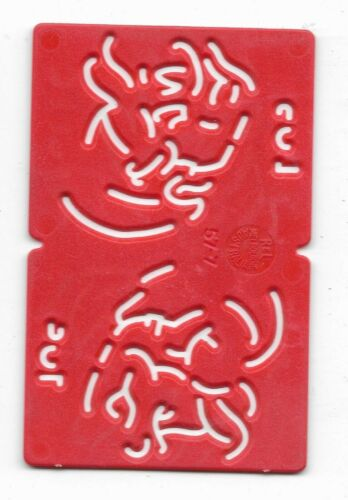 1960s / 1970s Kelloggs Stencil POP (Red)