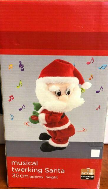 Christmas Electric Twerking Santa Claus Toy Music Dancing Doll Kids Toys Gifts
