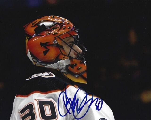 Anaheim Ducks Ryan Miller Autographed Signed 8x10 NHL Photo COA #3