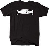 Tshirt -sheepdog Military Shoulder Tab Design