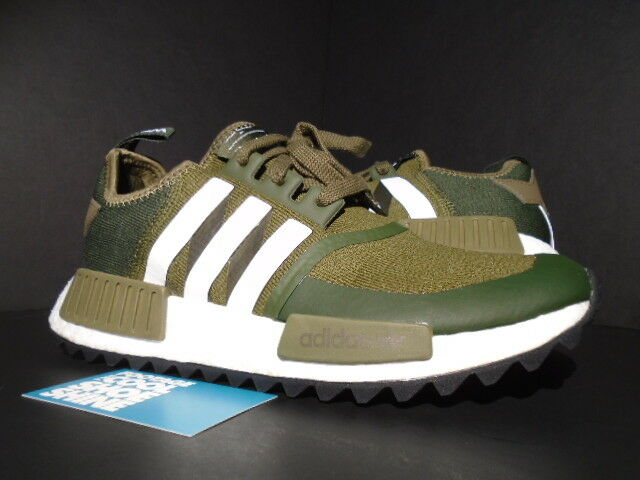 ADIDAS WM NMD TRAIL PK WHITE MOUNTAINEERING TRACE OLIVE WHITE ARMY CAMO CG3647 9
