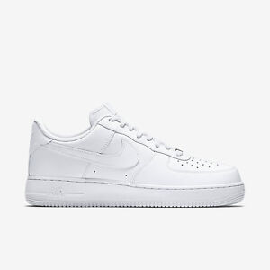 Nike Air Force 1 One Low Top All Triple White 315122 111 AF1 Uptown ... cf3344ef5