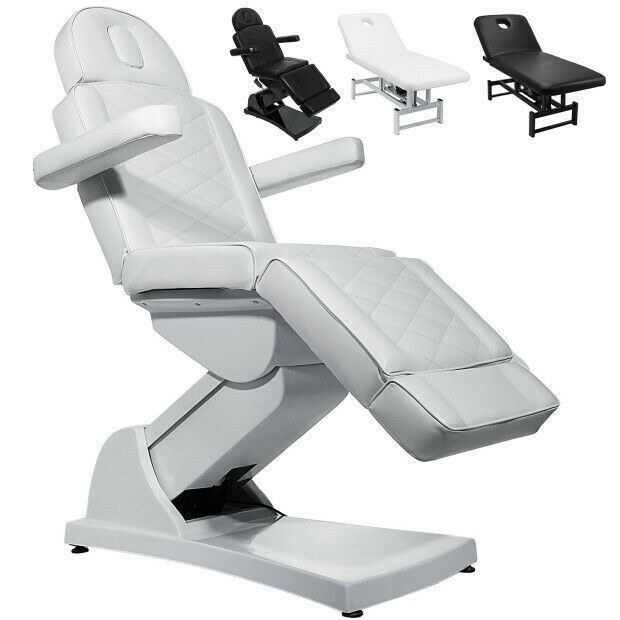Astounding Electric Facial Chair Massage Table Bed Spa Salon Pu Leather Remote Control Lamtechconsult Wood Chair Design Ideas Lamtechconsultcom
