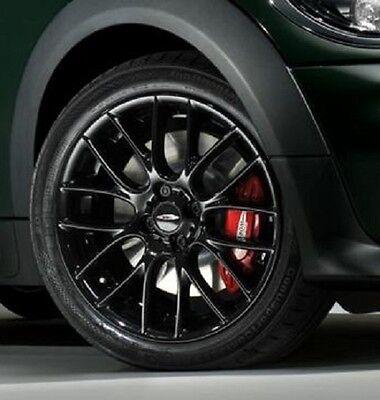"MINI Cooper JCW 17"" R112 Black Challenge Cross Spoke Rim Wheel OEM 36116795208"