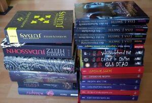 20-Buecher-Vampire-Biss-Tagebuch-Untot-Charlaine-Harris-Judas-Heitz-Romane-Sammlu