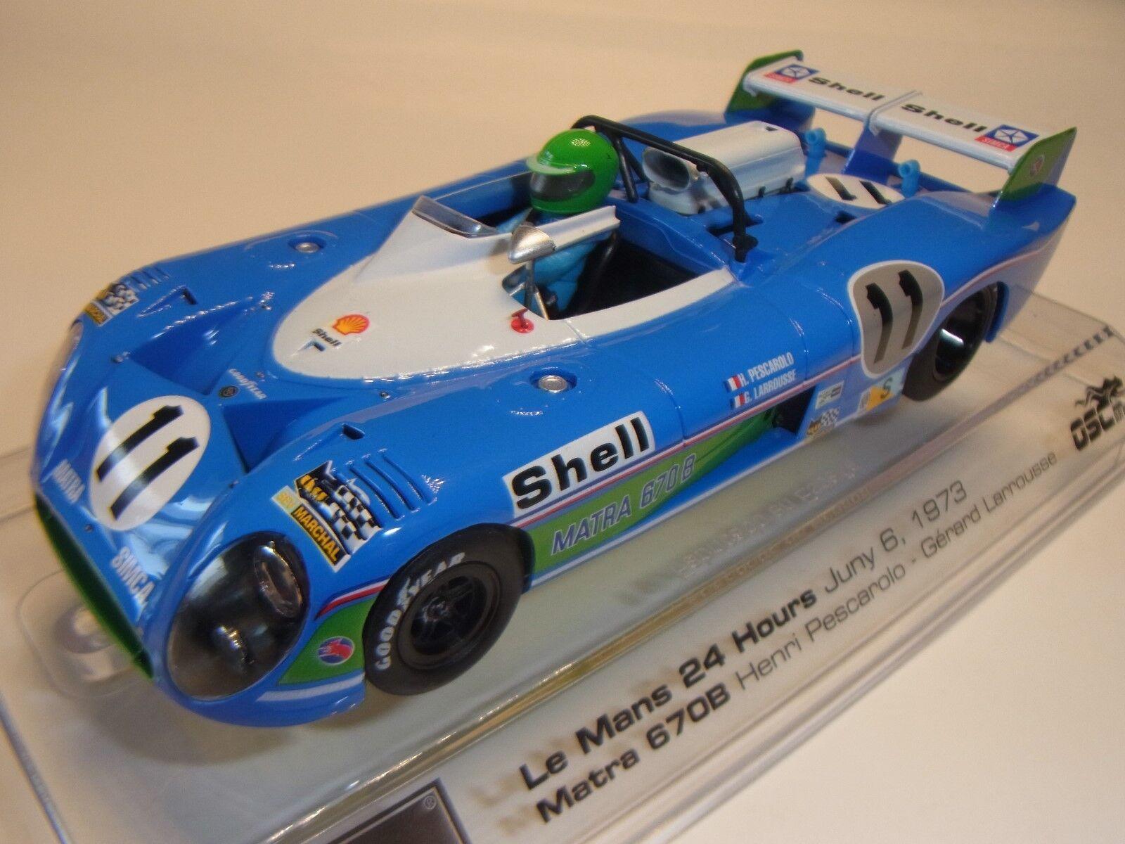 Src Matra 670B Le Mans 1973 SRC01103 Circuito de Slot 1  3 2 Coche Slot