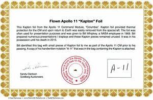 Apollo-11-Genuine-Gold-Kapton-Foil-Flown-to-the-Moon-NASA-with-COA-14-95