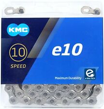 KMC X10e-Sport eBike Chain 136 Link 10 Spd Bicycle Chain for Shimano Sram Silver