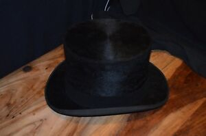 Image is loading Vintage-G-A-Dunn-and-Co-Silk-Top-Hat 53ba7b758658
