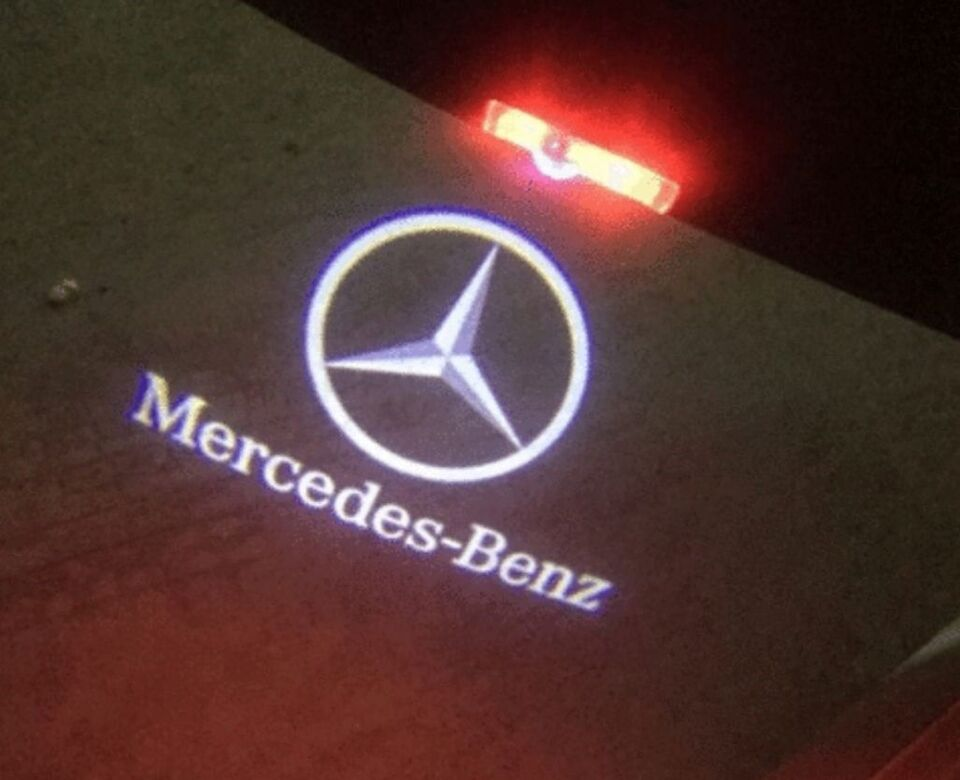 Lys og lygter, Mercedes Led Dør Lys, Mercedes Led