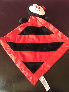 Sainsburys-Larry-Ladybird-comforter-blankie-red-and-black