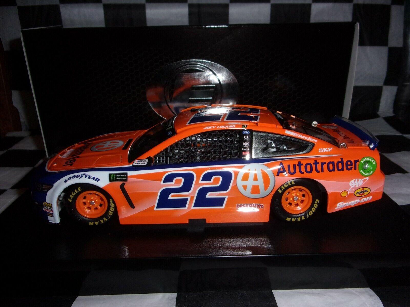 Joey Logano  22 AutoTrader 2019 Mustang Wirkung 1 24 ELITE NASCAR C221922A9JL  24
