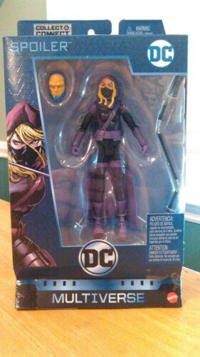 DC Comics Multiverse Spoiler Lex Luthor CNC Series Walmart Exclusive NEW