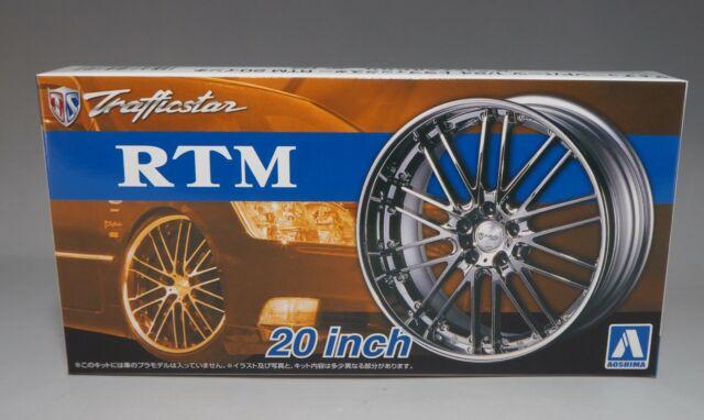 Model/_kits Aoshima 53713 Tuned Parts 38 1//24 Trafficstar TRM 20inch