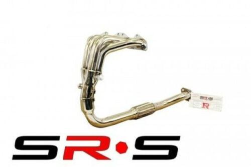SRS FULL T-304 STAINLESS EXHAUST HEADER MITSUBISHI ECLIPSE 95-99 GS RS NT JDM