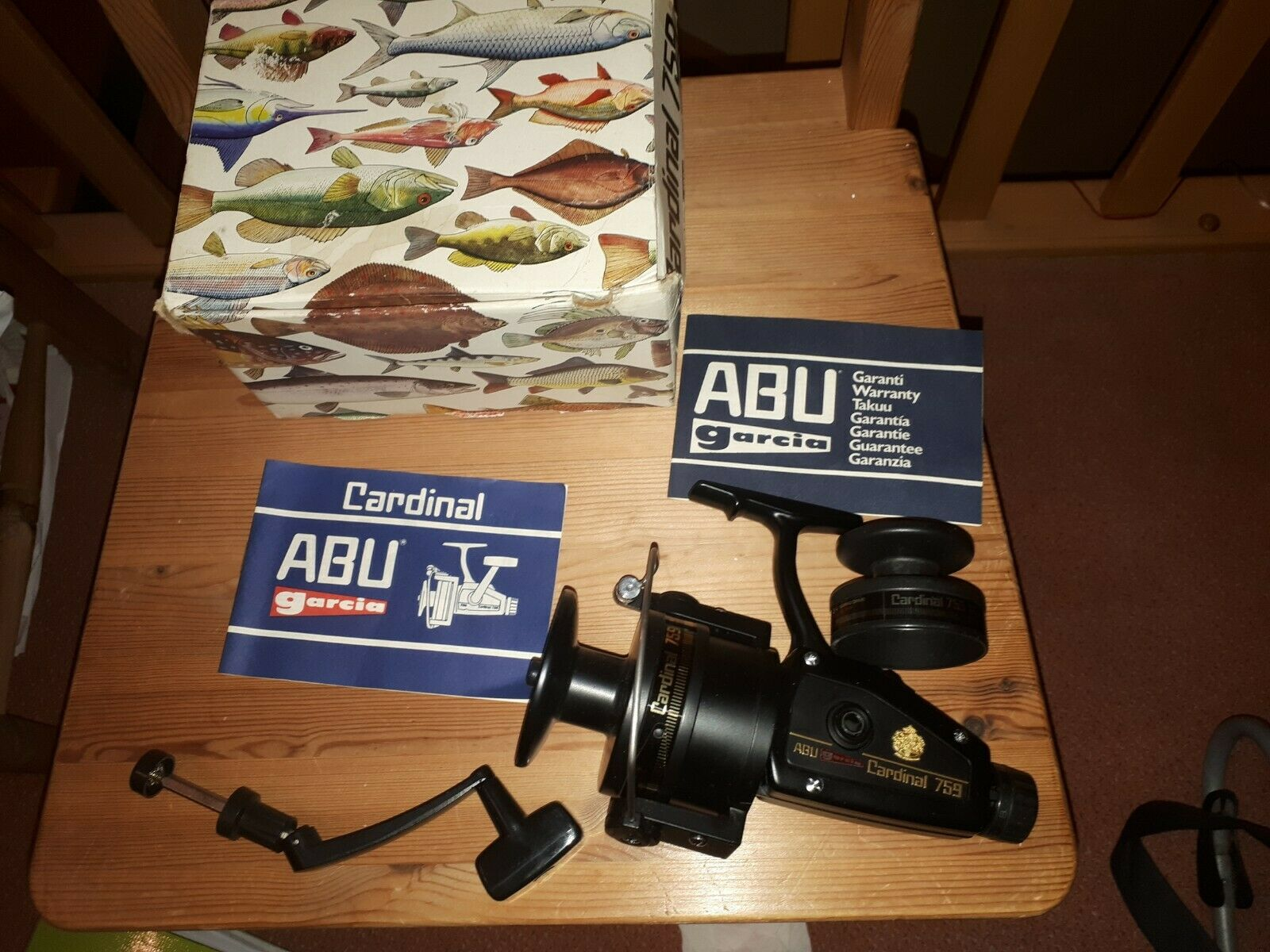 Abu Cardinal 759 mit Box  neu abu sweden abu 759  online sale