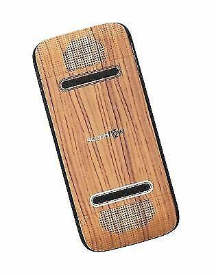 Audiovox SP20WDBK Soundflow Portable Speaker Soundboard Woodgrain for sale  online | eBay