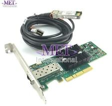 LOT OF 5 671798-001 HP 10GB CONNECTX2 PCI ETHERNET CARD HIGH PROFILE W/ CABLE