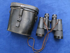 WW2 ORIGINAL GERMAN 1944 MILITARY 10X50 BINOCULARS BLC DIENSTGLAS BY CARL ZEISS