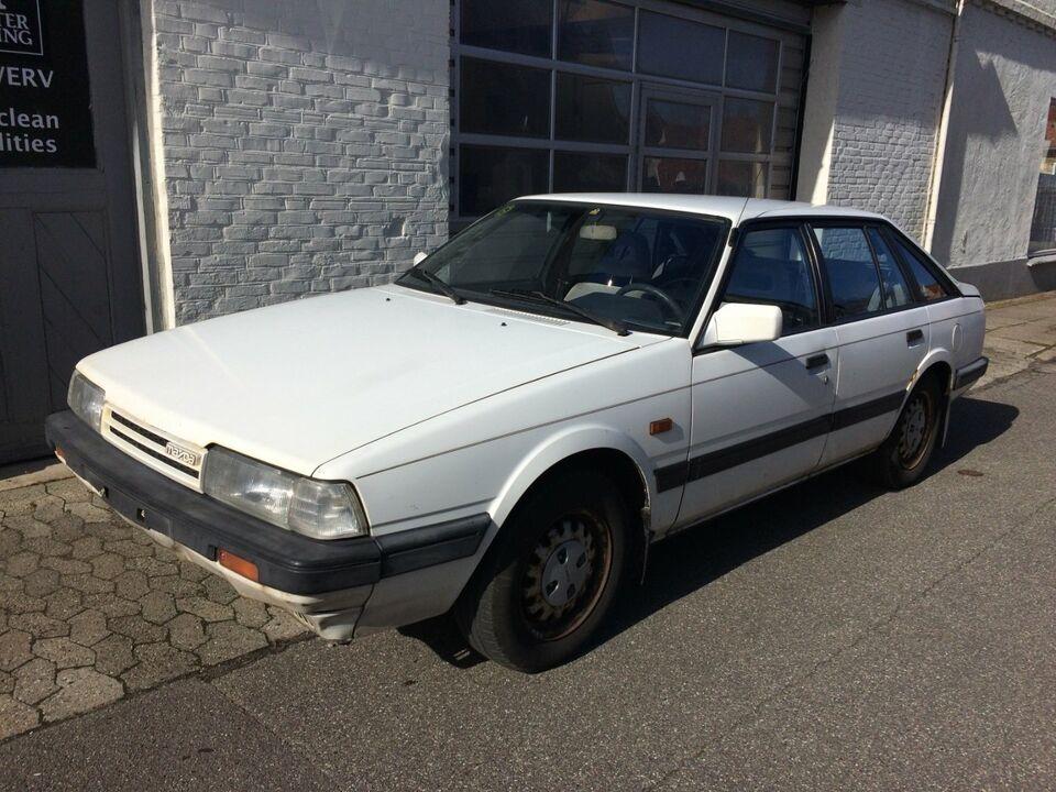 Mazda 626 1,6 LX Benzin modelår 1986 km 141000 Hvid nysynet 1