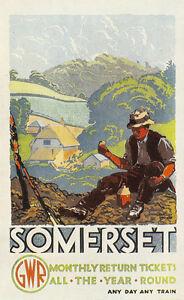 Liverpool Overhead Railway A4 Glossy Vintage Railway Poster Art Print 2