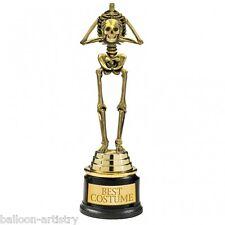Best Costume Skeleton 9 Inch Award Trophy Halloween Fancy Dress Party Accessory
