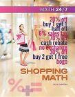 Shopping Math by Helen Thompson (Hardback, 2013)