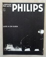 E353-Advertising Pubblicità-1965 - PHILIPS LAMPADE PER AUTO