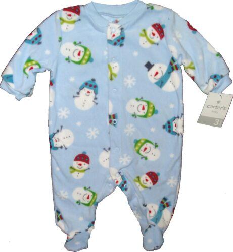 Sleeper Carters Sleep Play Fleece Outfit Closed in Feet Footed Pajamas BABY BOYS
