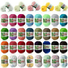 55 colors Super Soft Cashmere Baby Natural Smooth Bamboo Cotton Knitting Yarn