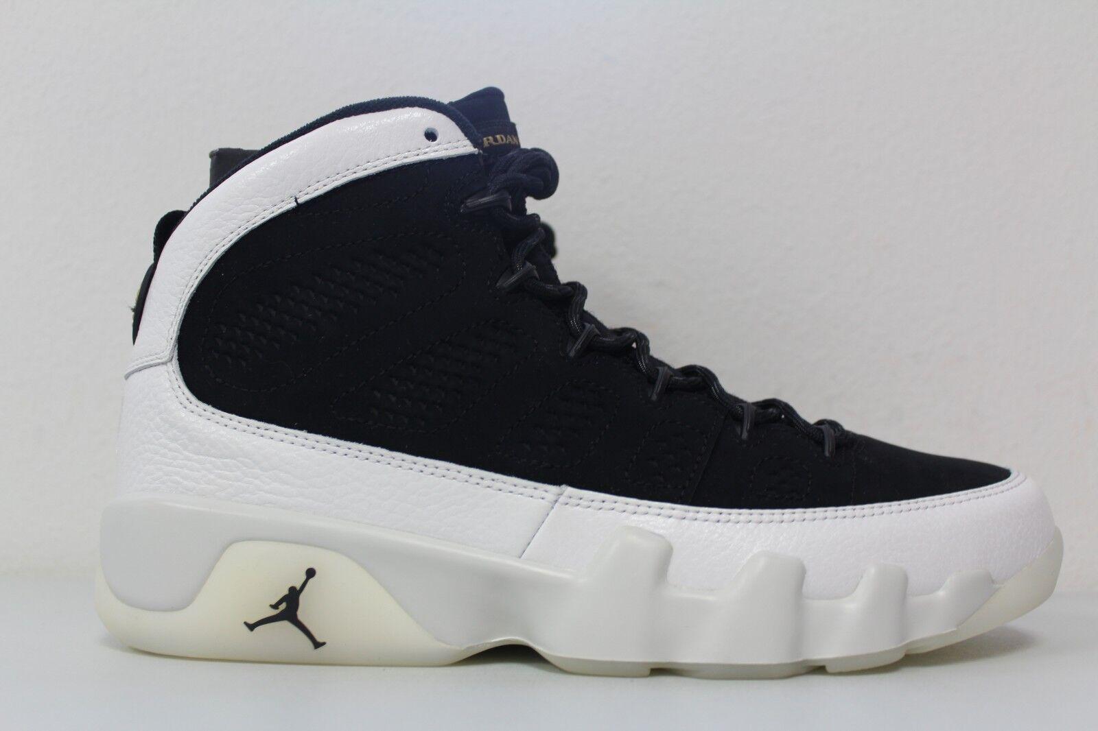 Nike Air Jordan 9 Retro All Star City Of Flight LA Black White 302370-021 Size 8