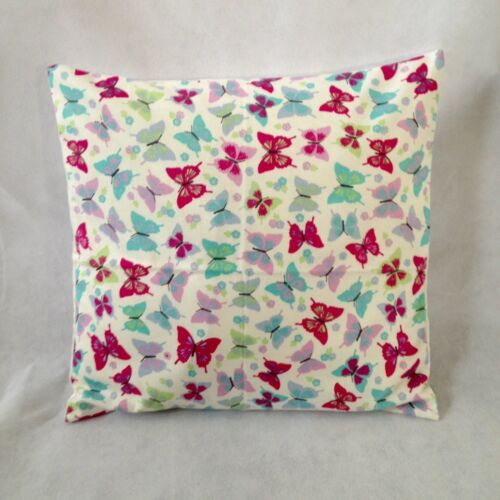 """New 16/"""" Childrens Girls Pink Purple Teal Butterflies Butterfly Cushion Cover"""